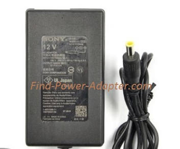 NEW 12V 1A Sony AC-L1210WW 14930901 Blu Ray AC ADAPTER