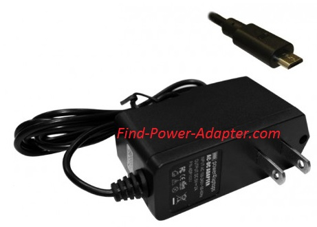 New 5V 2A ZTE V9 Compatible Tablet Power AC Adapter Charger With Built In US Plug
