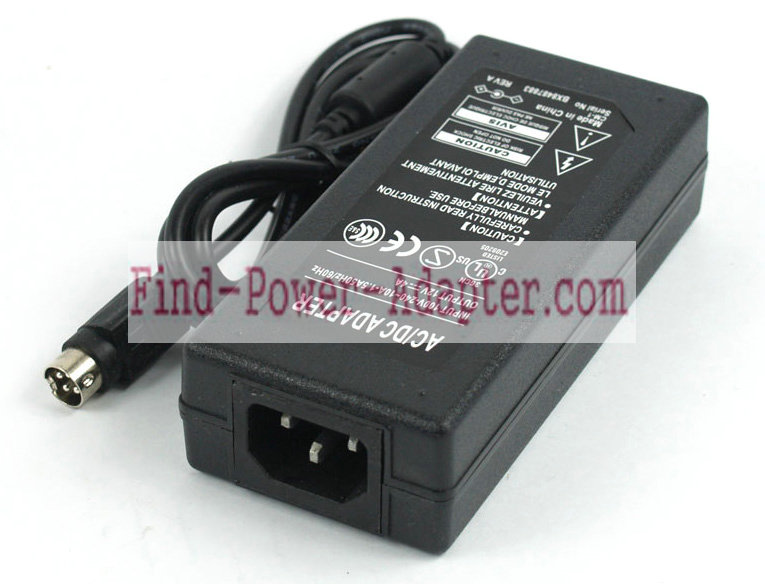 Replacement Samsung 12V 4A 48W AC Power Adapter ADP-5412VE ADP-4812 Tip 4Pin With Round Head
