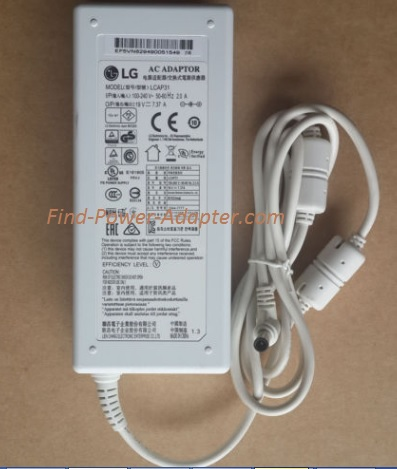 NEW Genuine 19V 7.37A 140W LG EAY62949001 34UM94-PD 34UM95-P AC Power Adapter