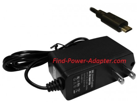 New 5V 2A ZTE Optus Compatible Tablet Power AC Adapter Charger With Built In US Plug