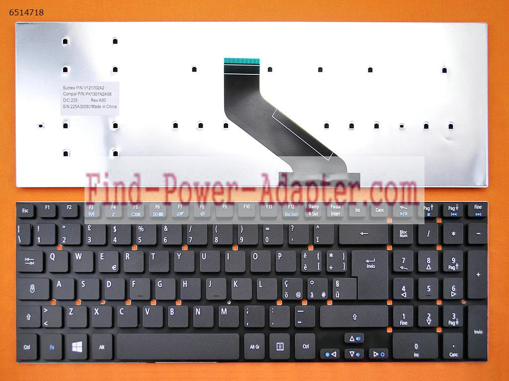 Acer Aspire 5755 5755G Keyboard MP-10K36I0-6981 PK130IN1A13