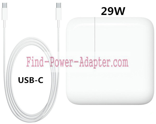 A1540 Apple 29W USB-C Power Adapter Charger For MacBook 12 MJ262 602-00421-A