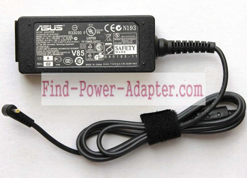Asus ADP-40PH 19V 2.1A AC/DC Adapter - Asus ADP-40PH 19V 2.1A Power Supply Cord