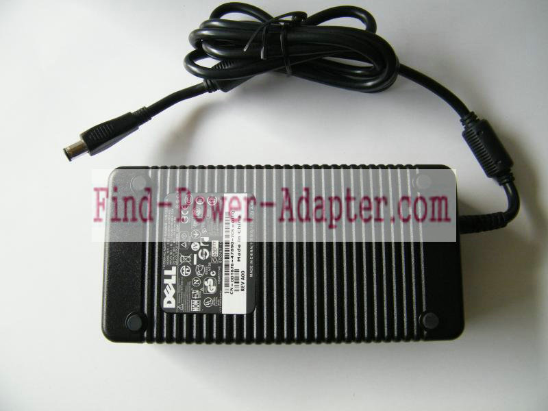 Dell PA-19 19.5V 11.8A AC/DC Adapter - Dell PA-19 19.5V 11.8A Power Supply Cord