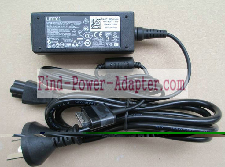 D28MD PA-1300-04 Dell 19V 1.58A 30W AC Power Adapter Tip Dell Special 40-Pin Fit Latitude 10 ST ST2