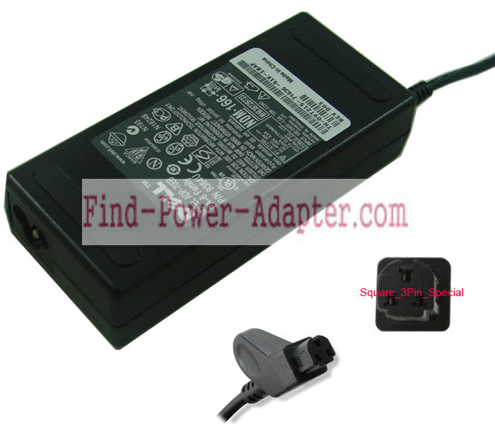 Dell PA-2 20V 3.5A AC/DC Adapter - Dell PA-2 20V 3.5A Power Supply Cord