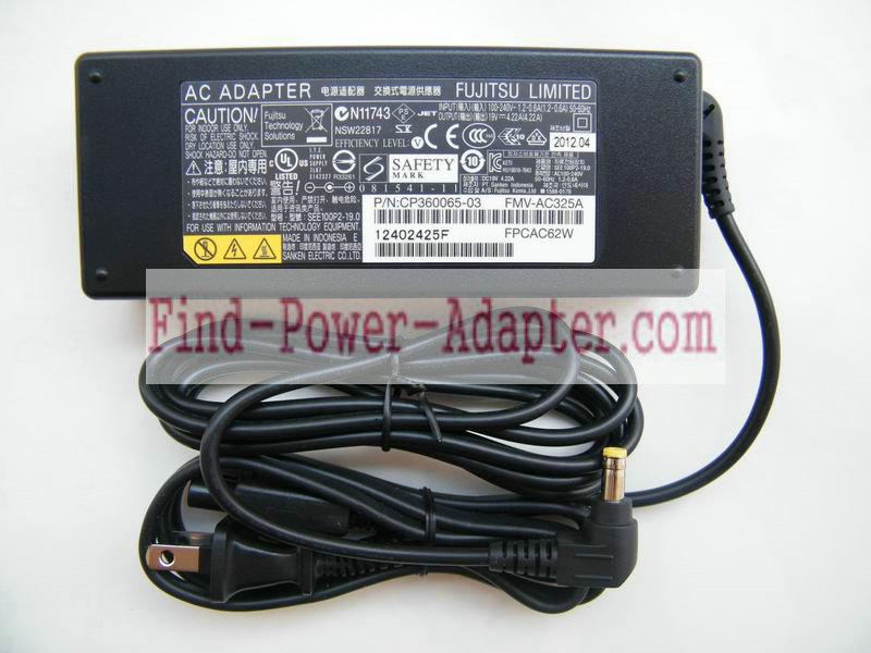 Fujitsu CP410716-01 19V 4.22A AC/DC Adapter - Fujitsu CP410716-01