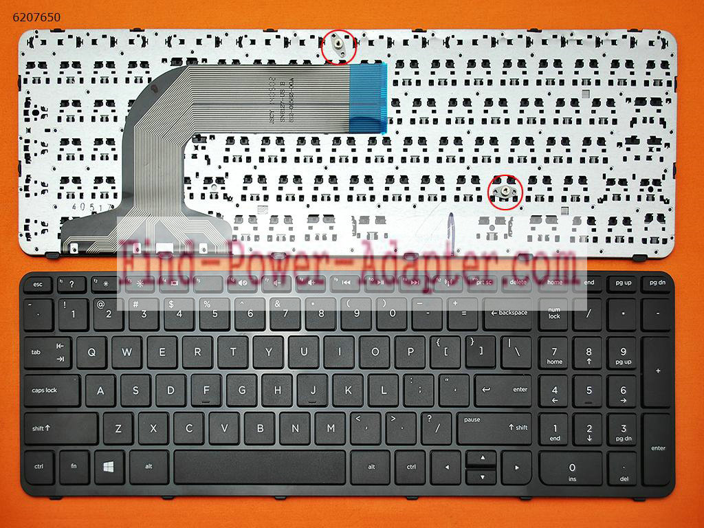 HP Pavilion 17-E Keyboard 720670-001 725365-001 V140546BS1