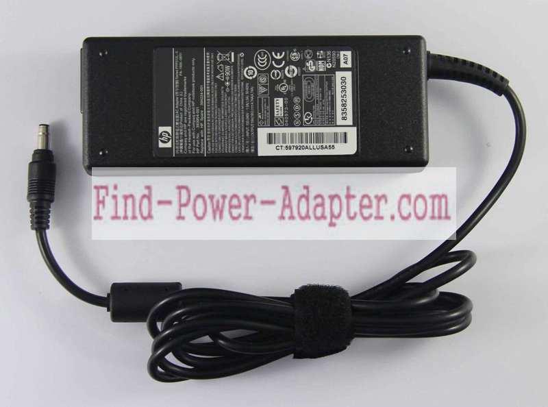 394224-001 393954-001 PPP012L-S PA-1900-08R1 432309-001 432310-001 HP 19V 4.74A 90W AC Power Adapter