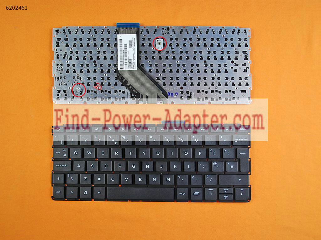720650-031 HP SlateBook 10-H Keyboard 9Z.NAMSQ.00U