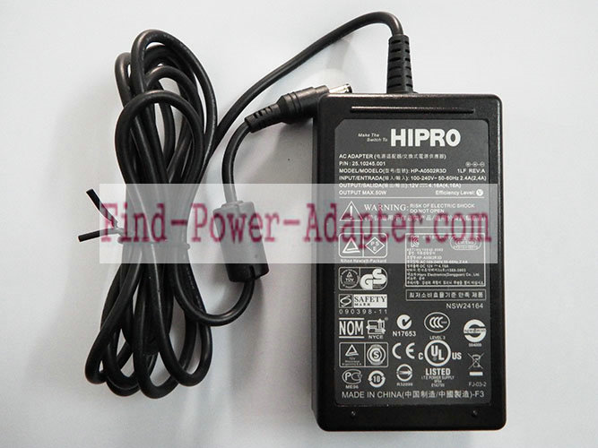 Hipro 409129-003 12V 4.16A AC/DC Adapter - Hipro 409129-003 12V 4.16A Power Supply Cord