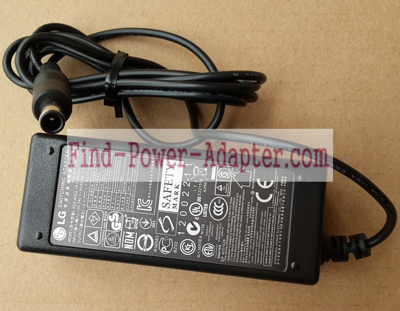 LG 19V 1.7A 32W AC Power Adapter ADS-40SG-19-3 19032G EAY62549304