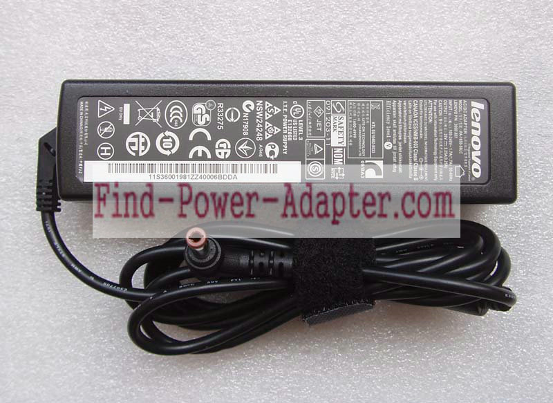 Fujitsu S26113-E519-V15-01 20V 3.25A AC/DC Adapter - Fujitsu S26113-E519-V15-01 20V 3.25A Power Supp