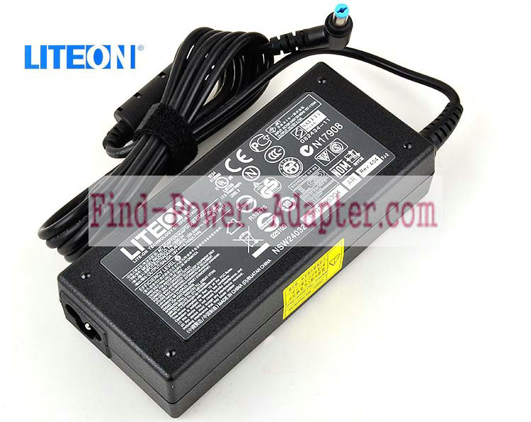 Liteon PA-1900-05 19V 4.74A AC/DC Adapter - Liteon PA-1900-05 19V 4.74A Power Supply Cord