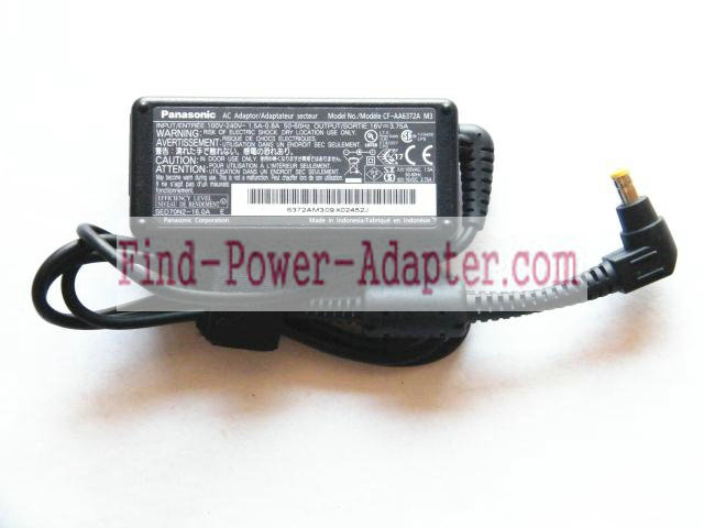 CF-AA1633A CF-AA6372A CF-AA6372B CF-AA6373A Replacement Panasonic 16V 3.75A 60W AC Power Adapter Tip